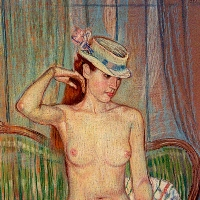 Nude with a Hat