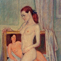 Nude with Modigliani