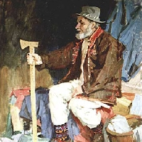 Old Ukrainian Man