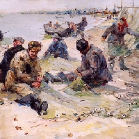 Study for Fishing Village
