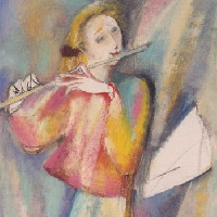 Young Flute Player