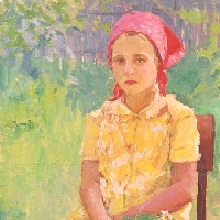 Young Girl Sitting