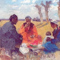 Lunch in the Field