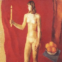 Figure with Candle