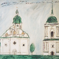 "From the series: ""Destroyed Temples of Kiev – Petropavlovsky Cathedral"""