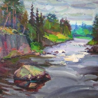 The River in Karelia
