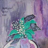 Still Life with Lilies of the Valley and Cherries