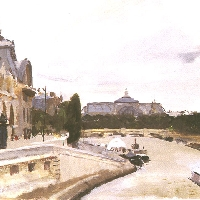 Paris, the Seine