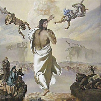 Christ Leaving