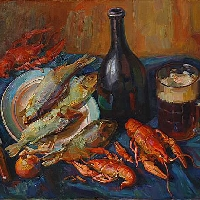 Crayfish and Beer