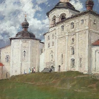 Russian North. Monastery (closter)