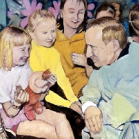 Putin and Children