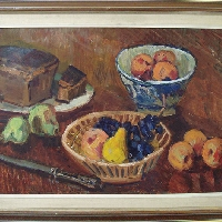 Bread and Fruits