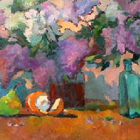 Stillife with Lilacs