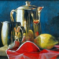 Golden Pots and Lemon