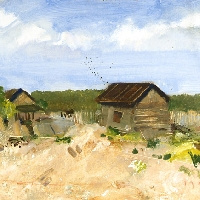 Landscape near Moscow
