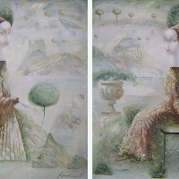 Encounter (diptych)