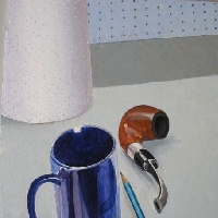Still Life with a Pipe