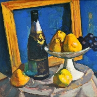 Champagne and Pears
