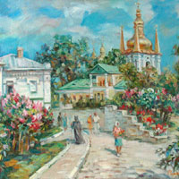Spring Day in The Lavra