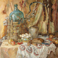 Still Life with the Bread