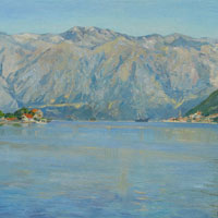 Morning in the Bay of Kotor