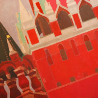 Red Moscow. The Tsar's Tower.