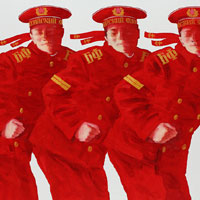 Red Sailors. Composition 51