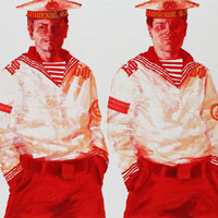Red Sailors. Composition 52