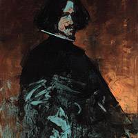 Contemplating Old Masters. Velázquez. Self-Portrait.